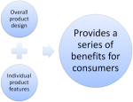 List of Benefits and Costs