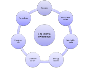 internal marketing environment