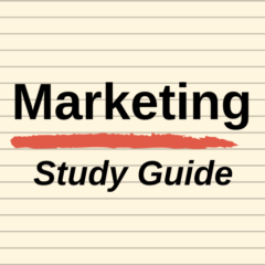 THE Marketing Study Guide